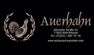 Restaurant Auerhahn Affental